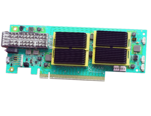 Kazan Networks – NVMe-oF Target Bridge