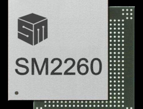 SM2260 PCIe Gen3 x4 NVMe 1.2 SSD Controller