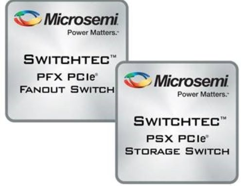 Microsemi Switchtec PCIe Gen3 Switches