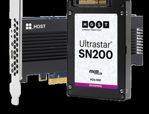 HGST Ultrastar SN200 Series PCIe NVMe SSD